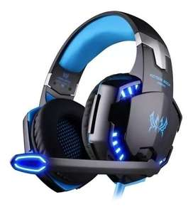 Audifonos Gamer Pro Plug 3.5 y USB, Celu,tablet,PC