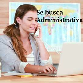 Se busca Empleada Administrativa