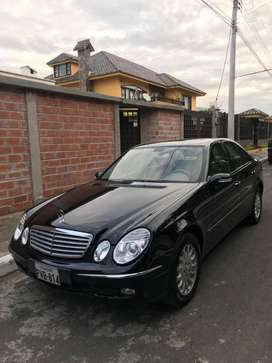 vendo Mercedes Benz E350 año 2006, flamante