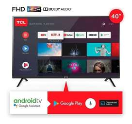 """Tv Smart 40"""" Tcl Sistema Android"""