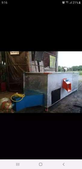 Secadora de cacao capacidad 20 qq