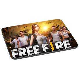 Mouse Pad Free Fire Gaming Gamers Videojuegos Shooter 22x18