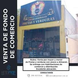 FONDO DE COMERCIO BENJARANO