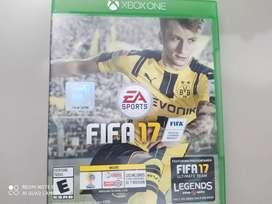 Vendo juego FIFA 17 de Xbox one