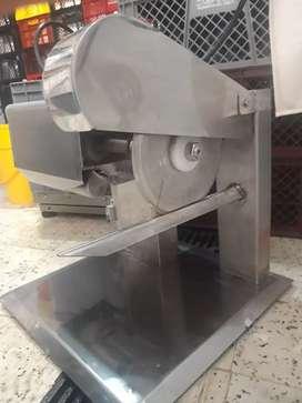 máquina cortadora de pollo
