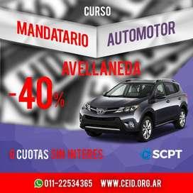 AVELLANEDA IMPERDIBLE!!! Mandatario Automotor Matricula Nacional y Oficial