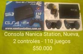 Consola Nanica Station Nueva