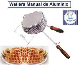 Waflerita manual / waflers en casa