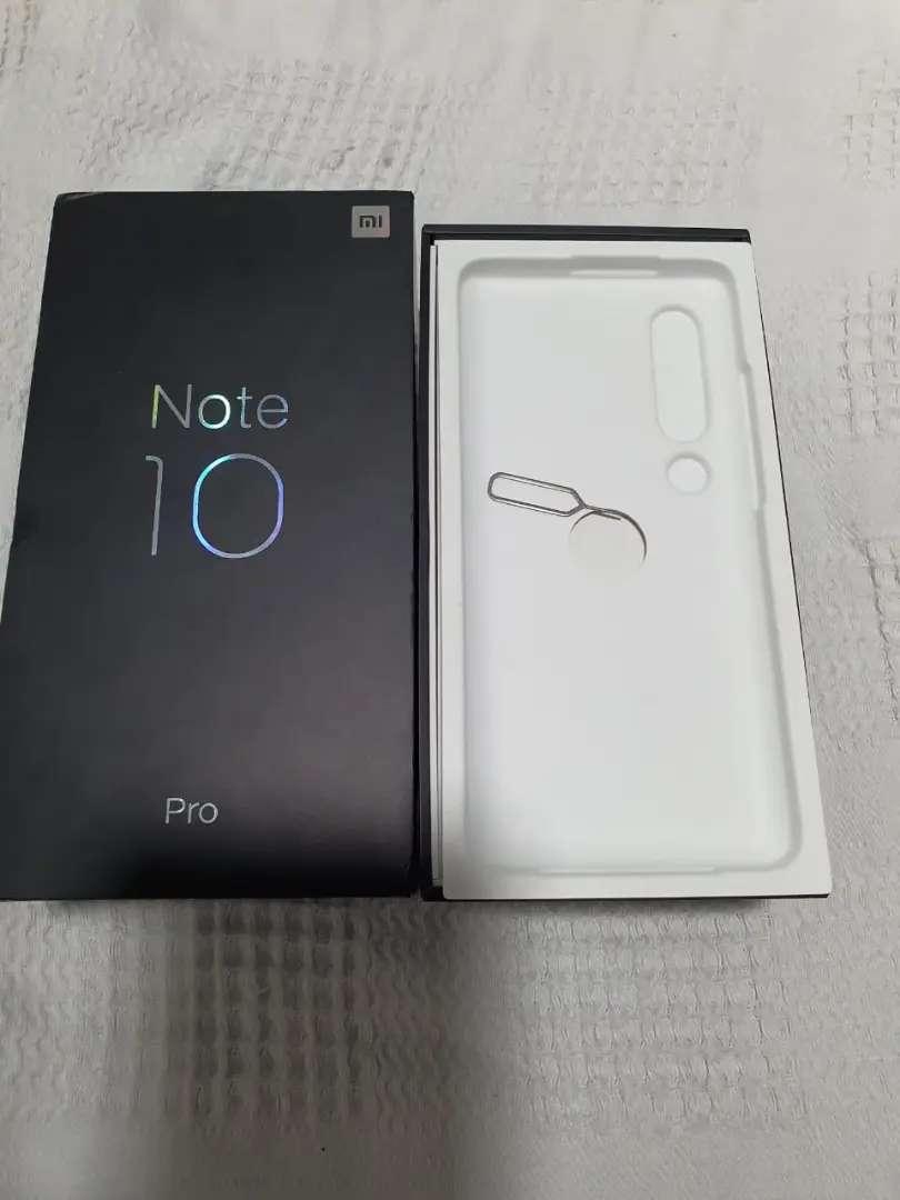 Xiaomy mi note 10 pro