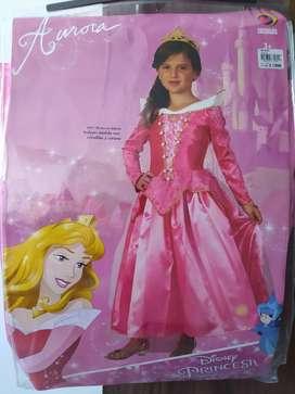 Disfraz princesa Aurora talla 6