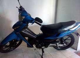 Motocicleta AKT FLEX 125 Modelo 2013 Azul