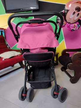 Coche + silla adaptable a carro