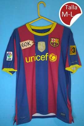 Camisetas de barcelona local