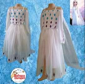 Disfraz de Elsa de Frozen 2 para niña