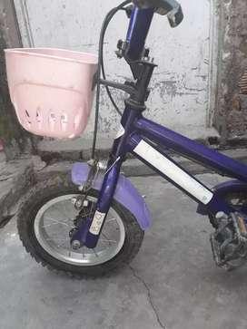 Vendo bici para niños rodado 12