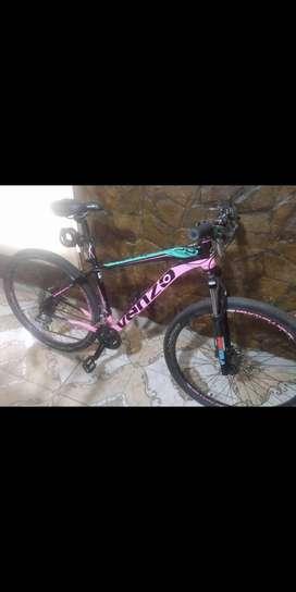 Bicicleta Venzo primal talle M R29 24 velocidades