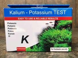 Test Potasio K Acuario Agua Dulce Pescera Esencial Plantas