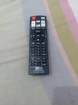 Vendo nuevo control remoto para equipo de sonido Lg