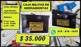 caja de herramientas militar