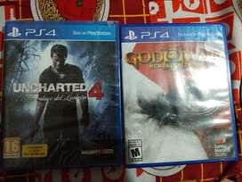 Vendo Juegos PS4. Escucho Ofertas Razonables