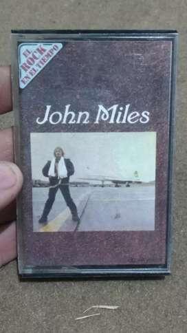 """Cassette John Miles - colección """"el rock en los tiempos"""""""