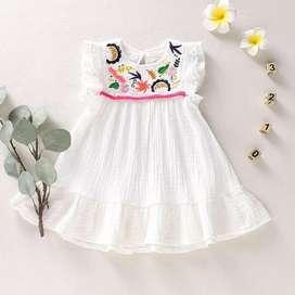 Vestido para Niña Blanco