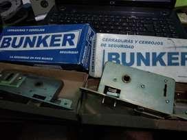 Cerraduras Doble Traba Bunker