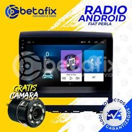 RADIO ANDROID PARA FIAT PERLA 2009UP GPS BT USB WIFI BETAFIX