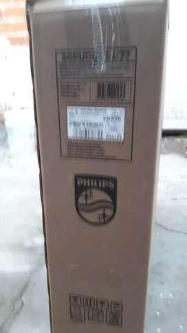 Vendo smart tv msrca Philips pantalla 50 hultra Hd  4k  sin uso con garantia