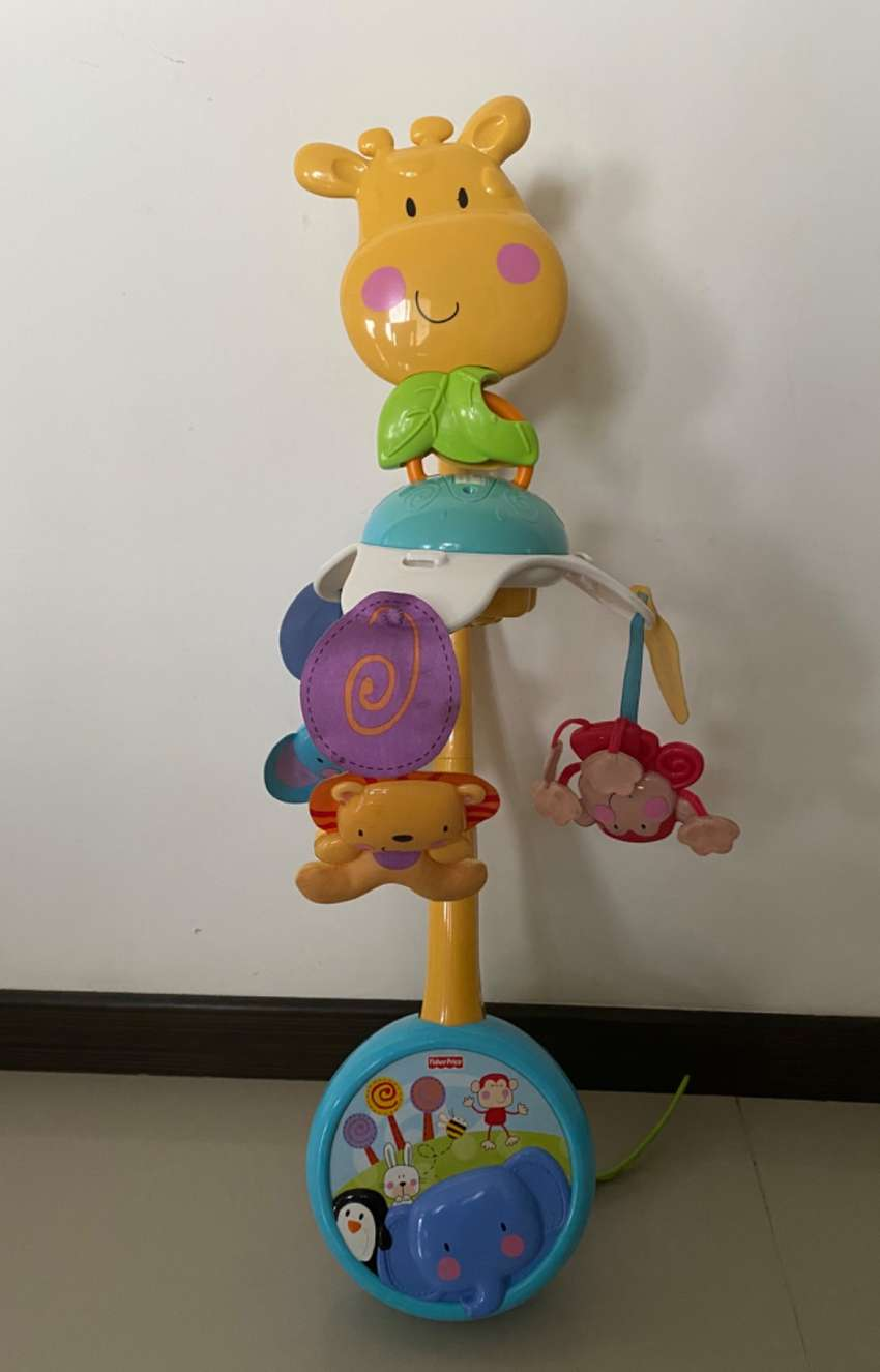 Móvil musical para cuna Fisher Price 0