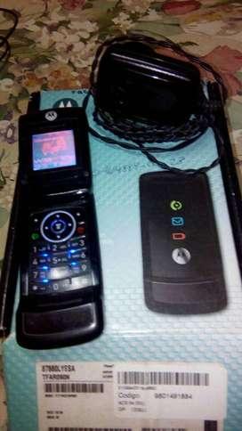 celular motorola w220 básico con radio para respuesto