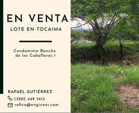 Lote 20 Condominio Rancho de los Caballeros. Tocaima