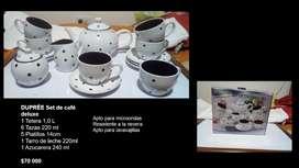 DUPRÉE Set de café deluxe