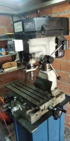 Fresadora agujereadora 2 hp monofasica