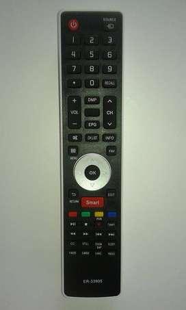 3834- Control Remoto Er33905 Para Smart Tv Jvc Led Bgh Hisense