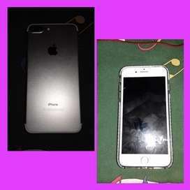 Vendo celular Iphone 7plus dos meses de uso