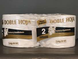 Bobina industrial blanca pack x 2 unidades