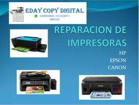 IMPRESORAS HP , EPSON , CANON