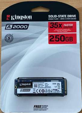 DISCO 250GB SOLIDO  KINGSTON A2000 M.2