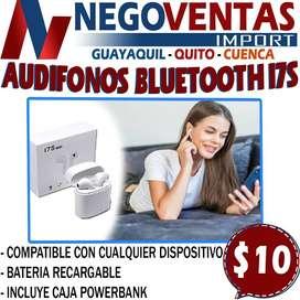 AUDIFONOS BLUETOOTH i7S EN DESCUENTO EXCLUSIVO DE NEGOVENTAS