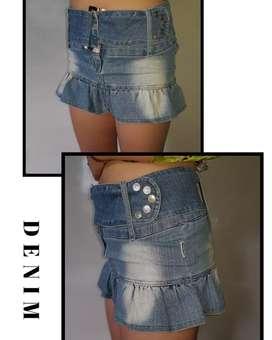 Falda mini talla S