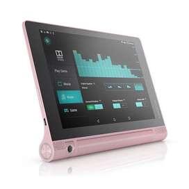 Tablet yoga tab3 color rosado