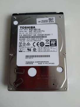 Disco duro interno Toshiba laptop HDD 1 Tera
