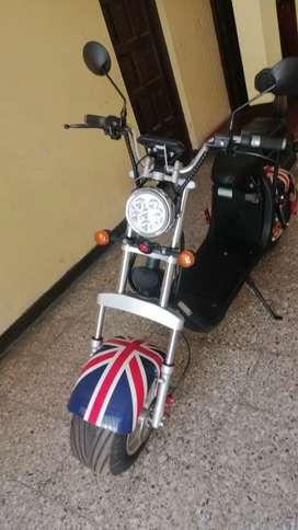 Moto eléctrica full con aros de aluminio