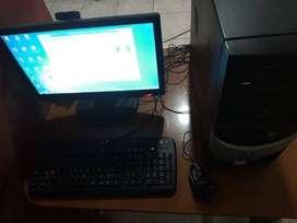 Computadora, CPU, Monitor, Teclado, Mouse