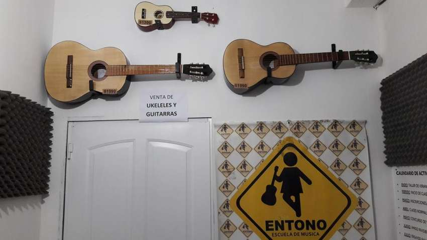 Guitarras,Ukeleles en Venta, en Entono-Siria 474, Salta 0