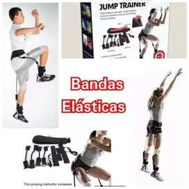Bandas elásticas para salto vertical