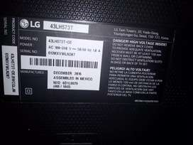 "TV LG 43"" con pantalla rota"