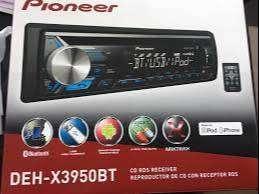 PIONEER CON CD/USB/AUXILIAR/BLUETOOTH, NUEVO EN CAJA,
