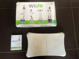 Tabla Wii fit con juego